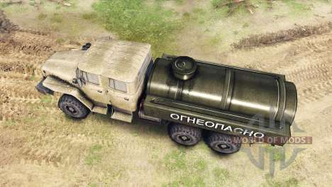Ural-4320-1982-40 für Spin Tires