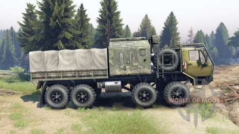 KrAZ-E De La Sibérie pour Spin Tires