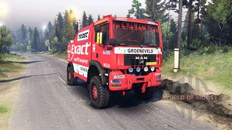 MAN TGA Dakar pour Spin Tires