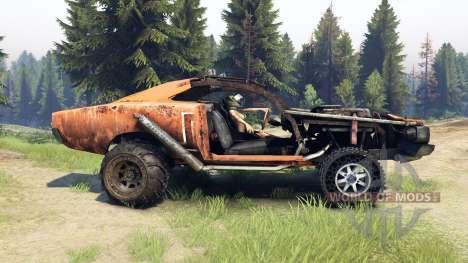 Dodge HL2 orange pour Spin Tires