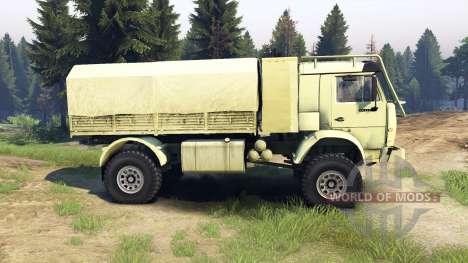 KamAZ-4911 sports Extrêmes pour Spin Tires