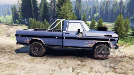 Ford F-100 custom PJ4 pour Spin Tires