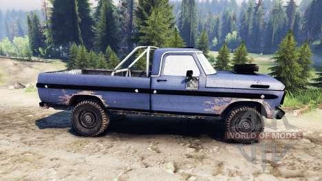 Ford F-100 custom PJ4 für Spin Tires