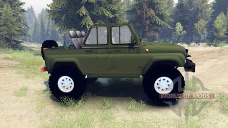 UAZ-3159-Trophäe für Spin Tires