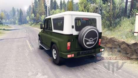 UAZ-3159 bars pour Spin Tires