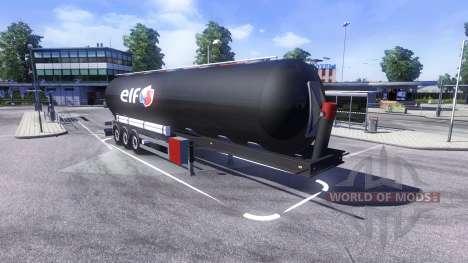 Remorques ELF pour Euro Truck Simulator 2