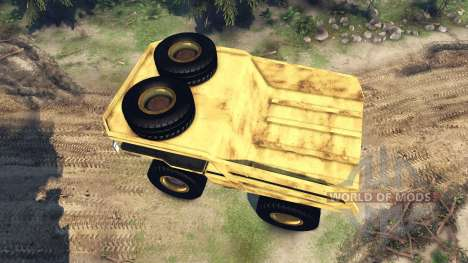 Dump truck Godzilla pour Spin Tires