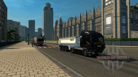 Verein Karte: TSM und RusMap Freiflächen für Euro Truck Simulator 2