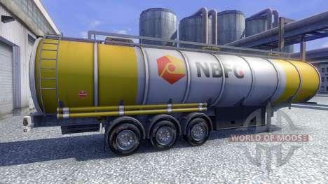 Bridgestone M730 pour Euro Truck Simulator 2