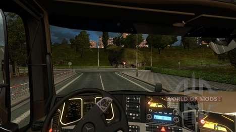 Mercedes Actros MPIV pour Euro Truck Simulator 2