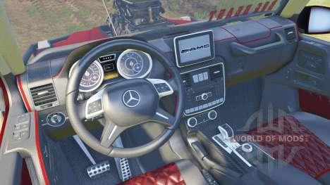 Mercedes-Benz G Bog Beast v2.0 pour Spin Tires