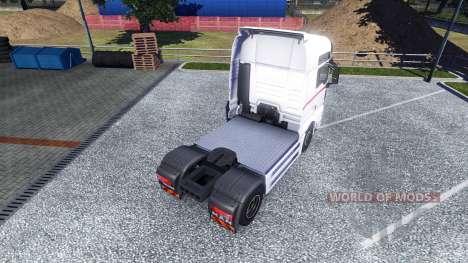 La peau des Roues de la Logistique sur le camion pour Euro Truck Simulator 2