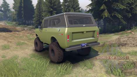 International Scout II 1977 grenoble green für Spin Tires