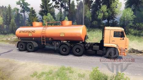 KamAZ-6460 für Spin Tires