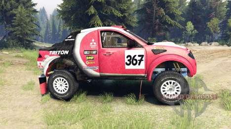 Mitsubishi L200 Triton pour Spin Tires