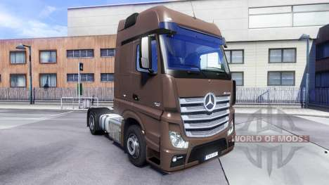 Mercedes-Benz Actros MPIV v1.3 pour Euro Truck Simulator 2