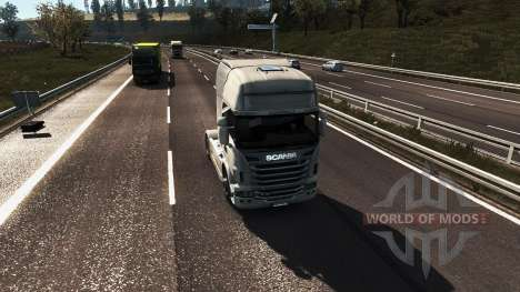 Realistische Grafiken für Euro Truck Simulator 2