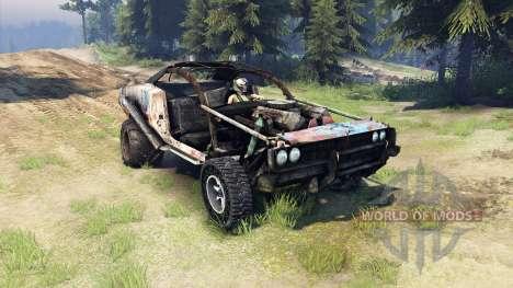 Dodge HL2 rusty für Spin Tires