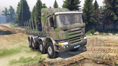 Scania Timber pour Spin Tires