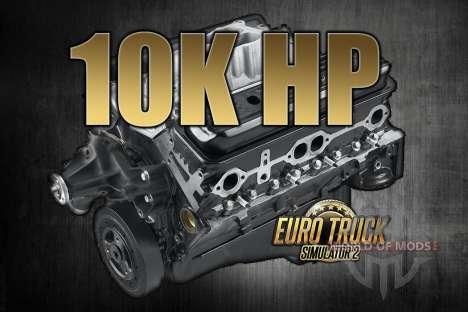 10K chevaux pour Euro Truck Simulator 2