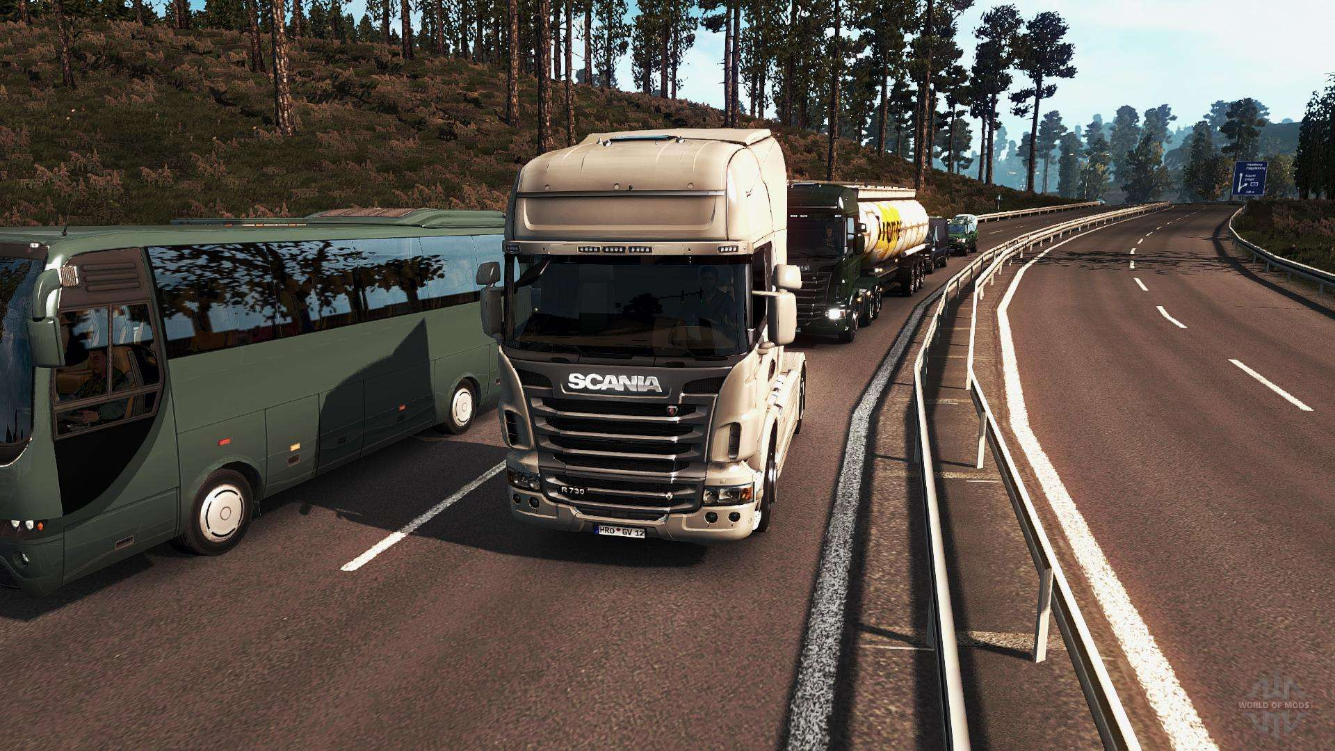 realistische grafiken f r euro truck simulator 2. Black Bedroom Furniture Sets. Home Design Ideas