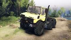 Mercedes-Benz Unimog U1500L 6х6 jaune