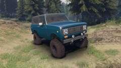 International Scout II 1977 bimini blue poly