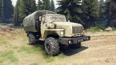 Ural-43206 ist ein 4x4