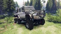Mercedes-Benz G65 AMG 6x6 Final athlet silver