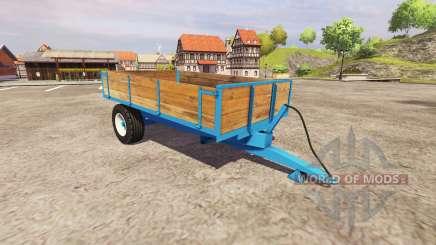 Les remorques à benne basculante à essieu simple pour Farming Simulator 2013