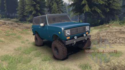International Scout II 1977 bimini blue poly für Spin Tires
