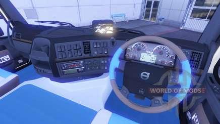Neue Interieur bei Volvo trucks für Euro Truck Simulator 2
