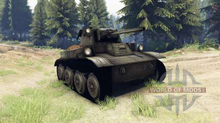 Mark VII Tetrarch (A17) pour Spin Tires