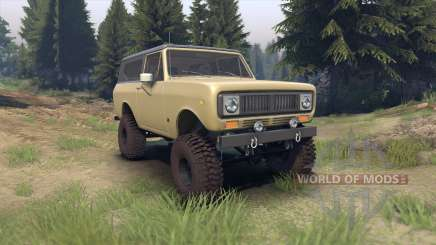 International Scout II 1977 elk pour Spin Tires