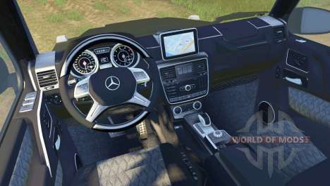 Mercedes-Benz G65 AMG pour Spin Tires