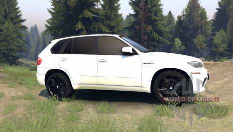 BMW X5 M pour Spin Tires