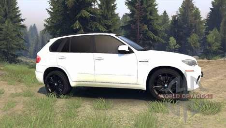 BMW X5 M für Spin Tires