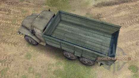 Ural-4320-01 für Spin Tires