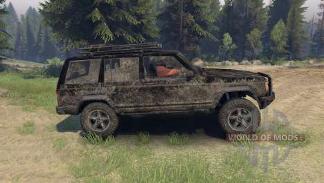 Jeep Cherokee pour Spin Tires