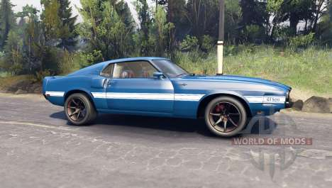 Ford Shelby GT500 pour Spin Tires