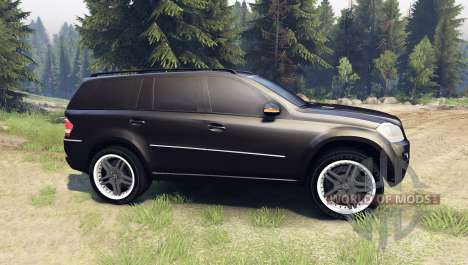 Mercedes-Benz GL 500 pour Spin Tires