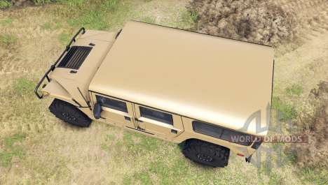 Hummer H1 tan pour Spin Tires