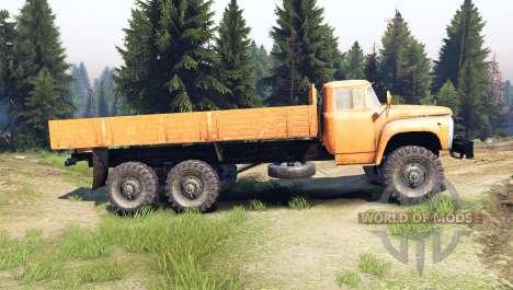 ZIL-133 GYA für Spin Tires