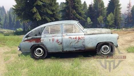 GAZ M-72 pour Spin Tires