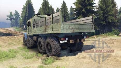 Ural-6614 v4.0 für Spin Tires