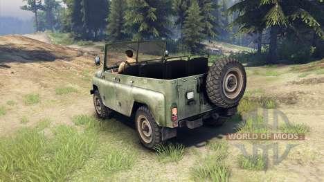 UAZ-469 pour Spin Tires