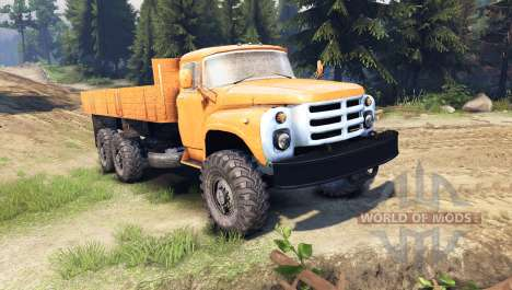 ZIL-133 GYA pour Spin Tires