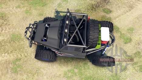 Toyota Land Cruiser Krawler pour Spin Tires