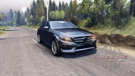 Mercedes Benz C250 Brabus für Spin Tires