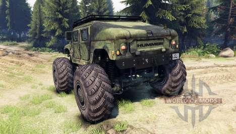 HMMWV M-1025 für Spin Tires